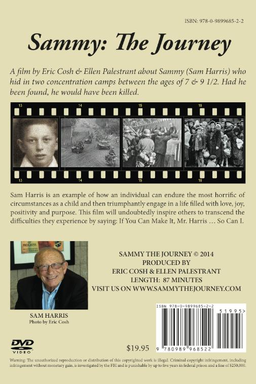 Sammy The Journey DVD cover - back