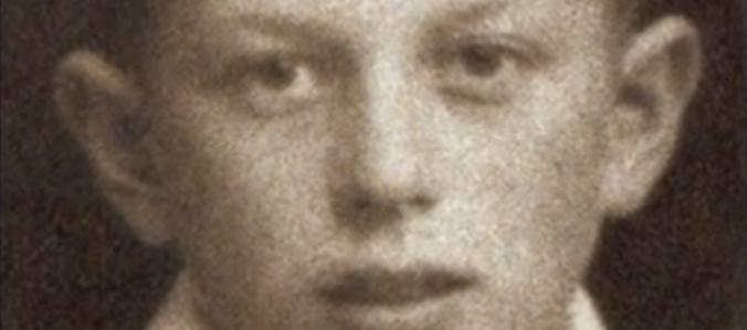 Holocaust Survivor Sam Harris as a Young Boy